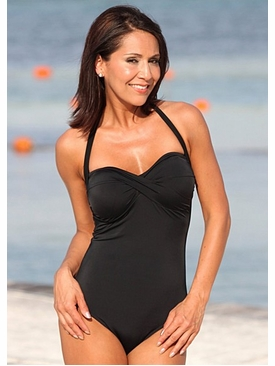 Ujena Swimwear c110  High Cut Monroe One Piece Swimsuit
