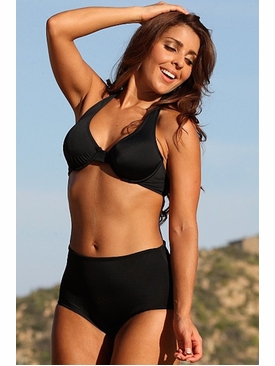 Ujena Swimwear D207C  Pin-Up Push-Up Bikini Bathing Suit