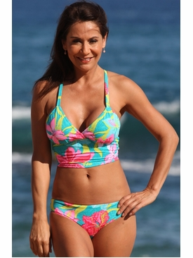 Ujena Swimwear E257  Malibu Cheeky Bikini Bathing Suit