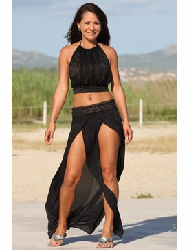 Ujena Swimwear E315  Le Mademoiselle Skirted  Cover Up