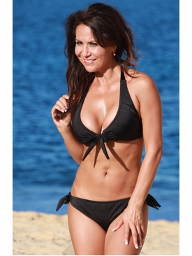 Ujena Swimwear N272 Bahia Black Bikini Swim Suit