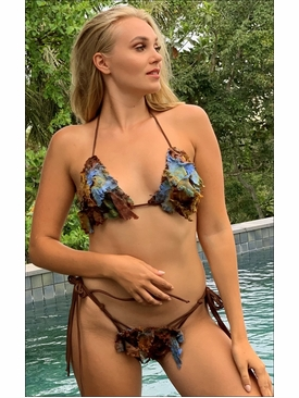 Ujena Swimwear Q205 Diamond Head Bikini Bathing Suit
