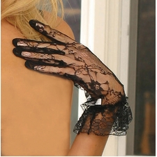 Elegant Moments 1260 Wrist Length Lace Gloves