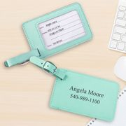 NEW Mint Luggage Tag