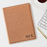 Personalized Cork Passport Holder