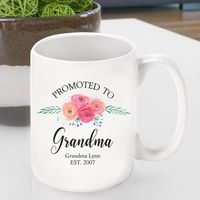 Promoted to Grandma Coffee Cup
