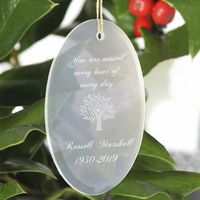 Personalized  You Are Missed Christmas Ornament