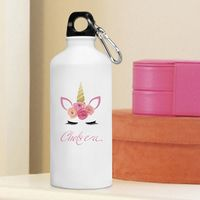 Personalized Kids Unicorn Water Bottle
