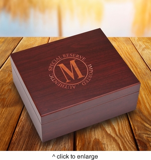 Laser Engraved Humidor - click to enlarge