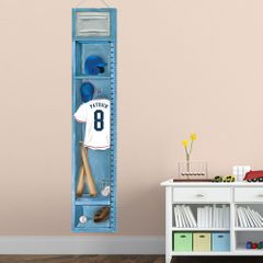 Personalized Baseball Height Chart