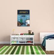 Personalized Football Canvas