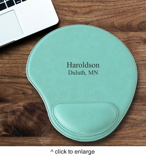 Personalized Mint Mouse Pad - click to enlarge