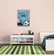 Personalized Soccer Canvas