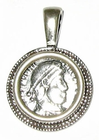 About ancient coins jewelry
