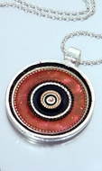 African design ethnic Israeli necklace
