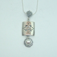Amazing Designer Gift 925 Silver and Freshwater Pearl Pendant