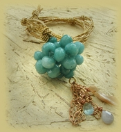 Amazonite sphere of good energy
