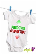 Baby clothing from Israel - Feed this Change that