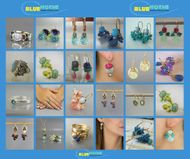 Designer fine israeli  jewelry collection artistic jewels necklaces and  earrings