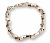 Designer stylish silver and goldfill bracelets