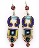 Earrings dangling handcrafted designer jewelry