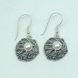 earrings_E1001Sterling silver