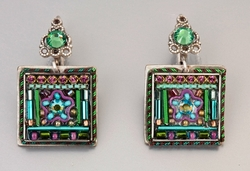 Earrings fashion colourful handcrafted