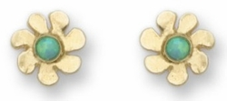Earrings Flower Motif