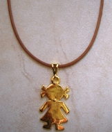 Girl necklace - mother necklace