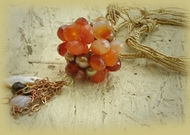 Good energies gemstone necklace - special for good energies for pregnacy