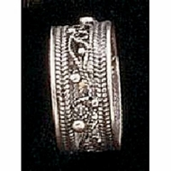 Handmade 925 silver filigree ring