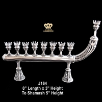 Hanukkah menora candles holder Israeli Judaica