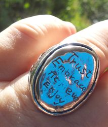 Inspiration Ring Sterling silver