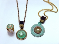 Israel colours jewelry
