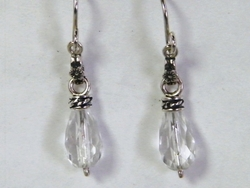 Israeli dangling silver earrings
