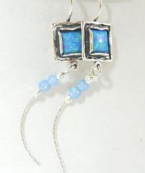 Israeli israeli jewelry |opal earrings