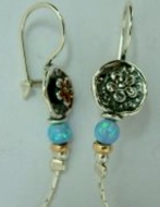 Israeli jewelry dangle earrings