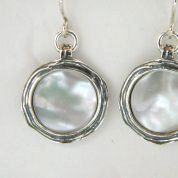 Israeli Jewelry | dangle silver earrings| ethnic silver jewelry