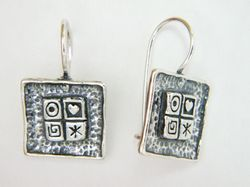 Israeli jewelry |earrings | silver earrings