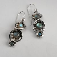 Israeli jewelry earrings sterling silver