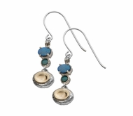 Israeli jewelry |earrings |sterling silver goldfilled