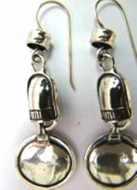 Israeli jewelry | | ethnic jewelry | silver earrings