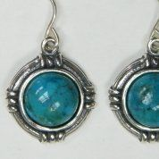 Israeli jewelry |gemstone earrings | turquoise earrings