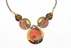 Israeli jewelry Necklace fashion handcrafted