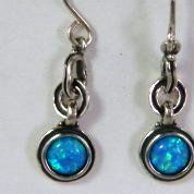 Israeli jewelry| opal silver earrings