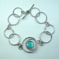 Israeli jewelry |Roman glass bracelet