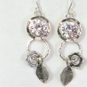 Israeli jewelry | Silver earrings | Unique jewelry earrings