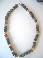 Israeli necklace indian agate stones
