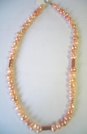 Israeli pearls necklace