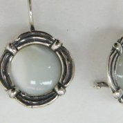Israeli Silver Earring Mother of pearl